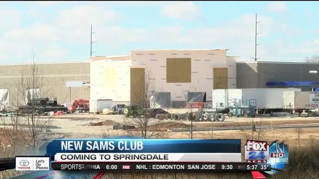 Sam's Club Springdale News